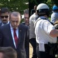 New video shows the Turkish President watching as his security team attacks protesters [Mic Archives]