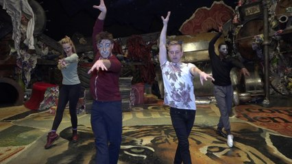 The Company of Cats Teach Choreography to Dance Novice Tyler Mount