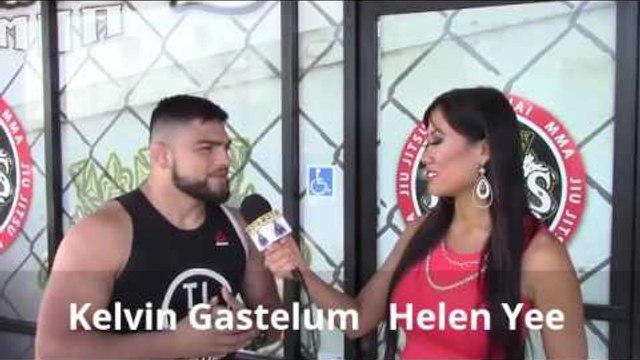 UFC Star Kelvin Gastelum HUGE fan of Canelo! Reflects on canelo win