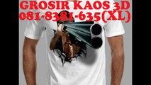 081-8381-635(XL), Kaos 3d China Surabaya, Kaos 3d Canon Surabaya, Kaos 3d Couple Surabaya