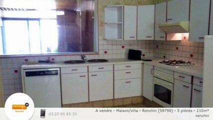 A vendre - Maison/villa - Ronchin (59790) - 5 pièces - 110m²