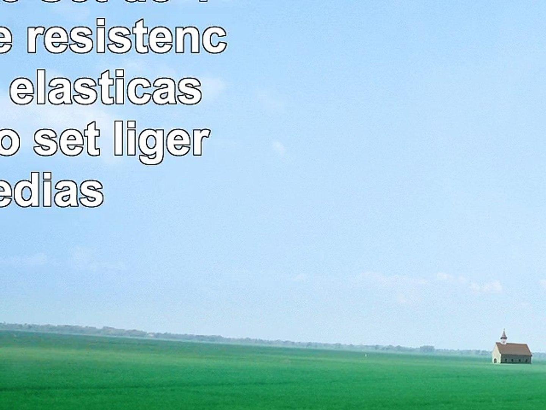 ActiveElite  Set de 4 bandas de resistencia  bandas elasticas en un solo set ligeras