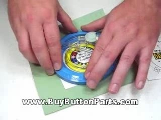 Cut a Circle for Button Maker Machine - Badge A Minit
