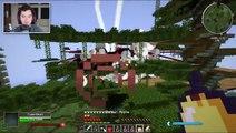Minecraft: UPSIDE DOWN HOUSE CHALLENGE! - Upside Down Modded