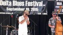 Aki Kumar Blues Band - Delta Blues Festival 2015 - Let Me Get Closer