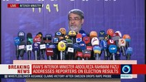 Iran interior minister Hassan Rouhani wins presidential election with 23.54mn votes