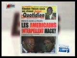 Revue de presse avec Fatimata Ba 19 Juillet 2013