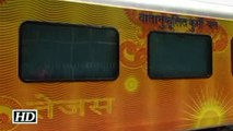 India's first Tejas train