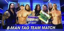 Mark Henry & John Cena & Daniel Bryan & Roman Reigns vs Big Show & Kane & Bray Wyatt & Seth Rollins WWE Smackdown March 26th 2015