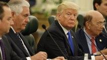 Trump holds bilateral meetings with Saudi Arabia