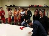 Football : la joie de Baptiste Giabiconi après le maintien du FC Martigues en CFA