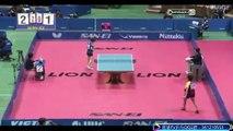 第21届日本桌球大会女子半决赛:佐藤瞳 vs 石川佳纯 标清