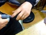 Kendo Kote reparieren - Teil 2 von 3 - neues Leder einnähen - kendo-sport (1)