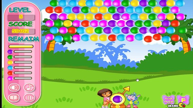 Dora The Explorer Dora and Boots Bubble Bloons - Dora Games For Kids
