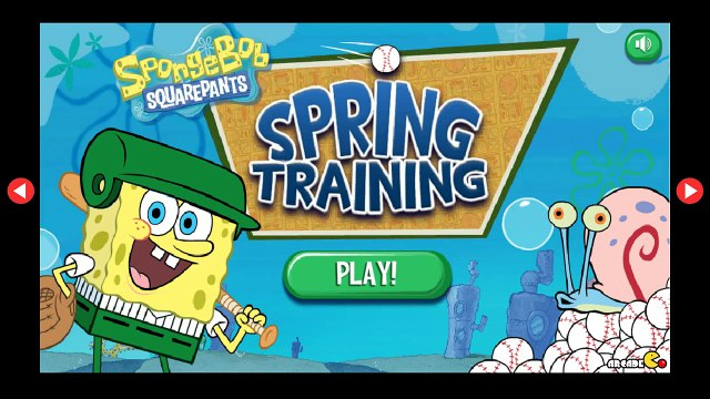 SpongeBob SquarePants  Spring Training - Bikini Bottom Baseball - SpongeBob SquarePants English