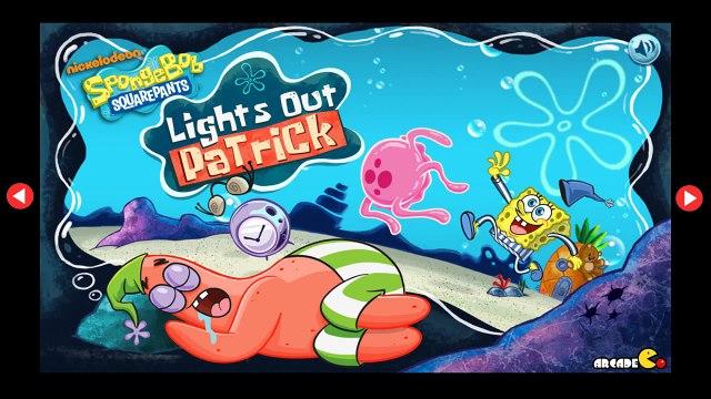 SpongeBob SquarePants Lights Out Patrick - SpongeBob SquarePants English