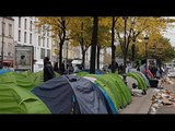 Migrant camps emerge in Paris after Calais 'Jungle' dismantled