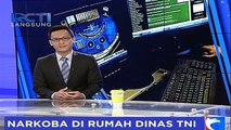 Rumah Dinas TNI Jadi Sarang Narkoba di Sumatera Utara