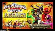 Power Rangers Super Megaforce  Legacy Power Rangers Full Episode Movie Game