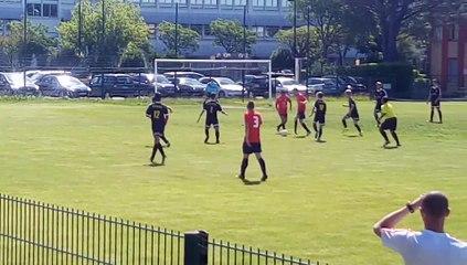 U17 contre Dentelles Fc   0 - 7