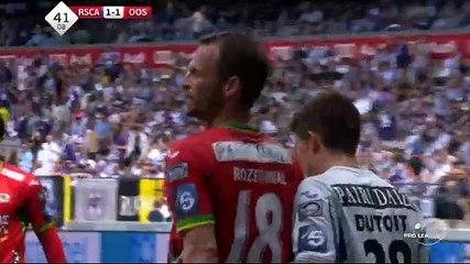 Rozehnal OWN GOAL (1:1) Anderlecht vs KV Oostende