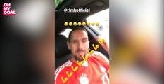 La story hilarante de Franck Ribéry