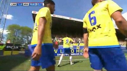 Barto GOAL (1:0) Cambuur Leeuwarden vs MVV Maastricht