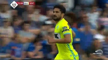 Saief GOAL (2:1) Club Brugge KV vs Gent