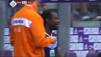 Acheampong GOAL (3:2) Anderlecht vs KV Oostende