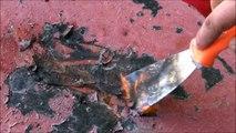 Video Как быстро и легко снять старую краску с металла. С помощью газовой горелки.