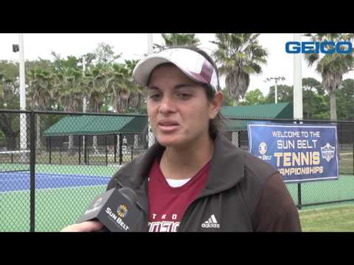 2014 Tennis Championship - Women's Match 3 Interviews with Troy