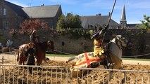 Les joutes de chevaliers à la Fete Medievale