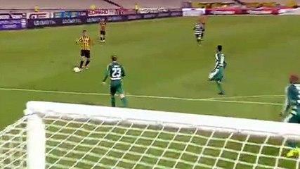 Christodoupoulos GOAL (1:0) AEK Athens FC vs Panathinaikos