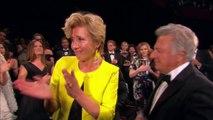 """Emma Thompson, Dustin Hoffman, Ben Stiller et Adam Sandler émus aux larmes à la projection de """"The Meyerrowitz Stories"""" - Festival de Cannes 2017"""