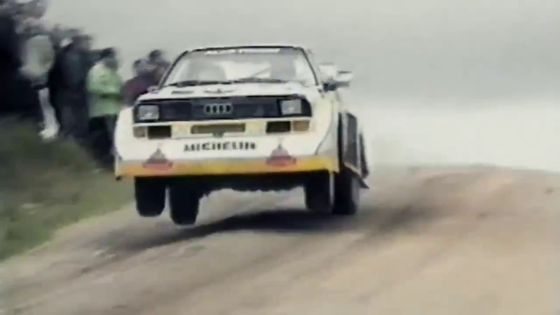 Rally Audi Quattro S1 Sport Group B 1986 Video Dailymotion