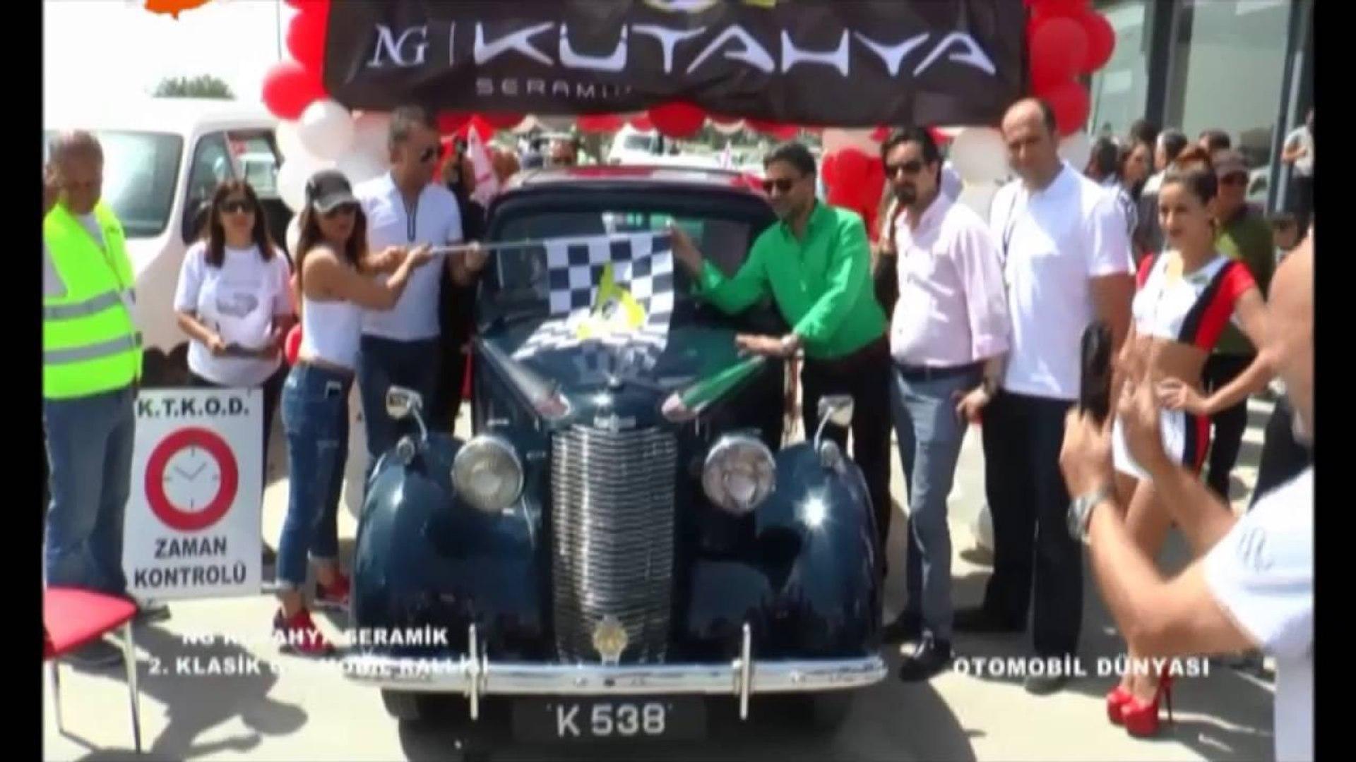 Otomobil Dünyası - Kütahya Seramik Klasik Otomobil Yarışı - 05.05.2016
