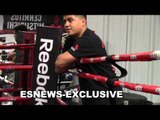 MIKEY GARCIA WORKING MITTS WITH ROBERT GARCIA - EsNews Boxing