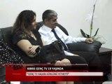 Kıbrıs Genç Tv Heyetinden Talat'a Ziyaret-Haber Kıbrıs Genç Tv