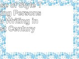Read Now  The Sense of Style The Thinking Persons Guide to Writing in the 21st Century Free