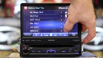 How to Pandore Kenwood  KVT 7012bt fold our DVD Mult