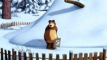 Masha y el Oso - Rastreadora de Animales Desconocidos (Batalla con bolas de nieve)-TUqVkb4Zz