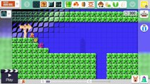 Super Mario Maker 8-4 Level Editing