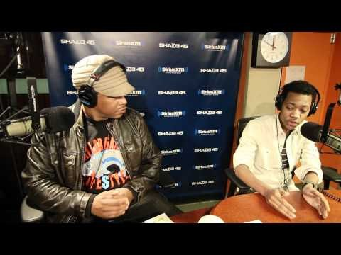 "Tyler James Williams from ""Everybody Hates Chris"" freestyles on #SwayInTheMorning"