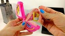DIY  HUBBA BUBBA Bubble Gum Lipstick & Lip Balm! Using REAL Bubble Gum!
