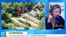 SlackLine : du funambulisme à 600 mètres d'altitude