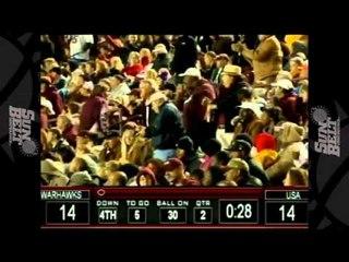10/27/2012 South Alabama vs ULM Football Highlights