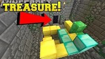 PopularMMOs Minecraft׃ CAN YOU FIND THE TREASURE ROOM?!? - Hidden Buttons 8 - Custom Map [2]