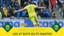 2016-2017 : les 47 buts de la saison