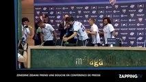 Zinedine Zidane chahuté par les joueurs du Real Madrid (Vidéo)