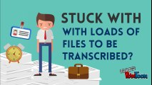 Looking for Trusted Transcription Service Provider?-Watch this and Make Your Transcriptions Accurate and Secured!
